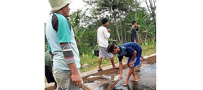 Filsafat Sapu Lidi Akan Terpancang di Desa Sasaran TMMD