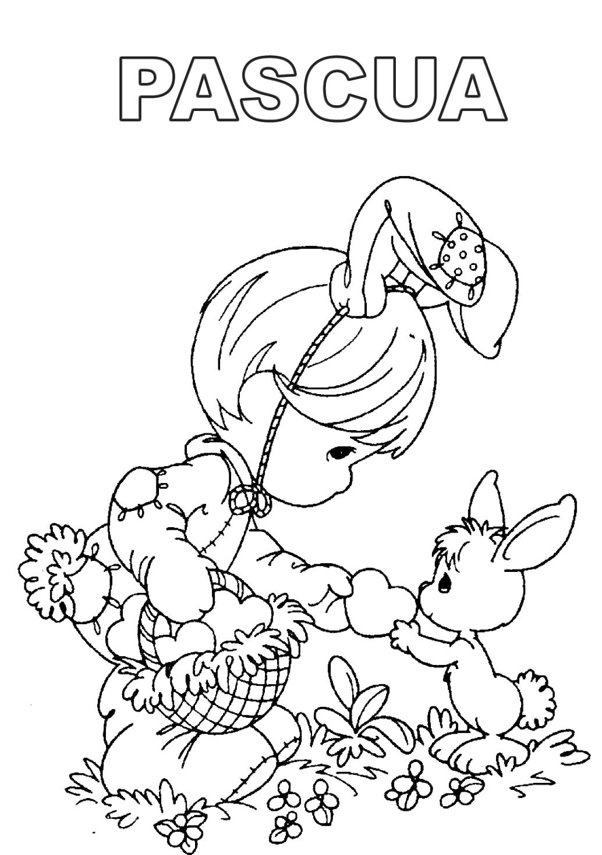 Único Pascua Imprimible Para Colorear Gratis Ilustración - Dibujos ...