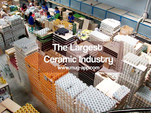 Pabrik Keramik Terbesar