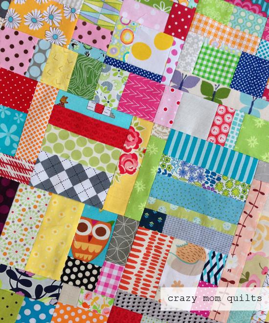 crazy mom quilts: scrapalicious quilt top : crazy mom quilts - Adamdwight.com