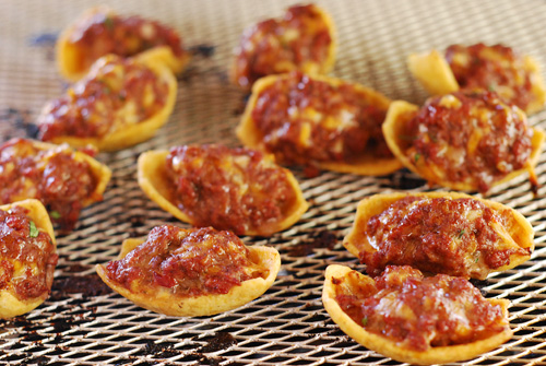 stuffed fritos, Big Green Egg appetizer,