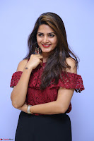 Pavani Gangireddy in Cute Black Skirt Maroon Top at 9 Movie Teaser Launch 5th May 2017  Exclusive 055.JPG