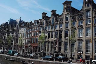 façades maisons Amsterdam