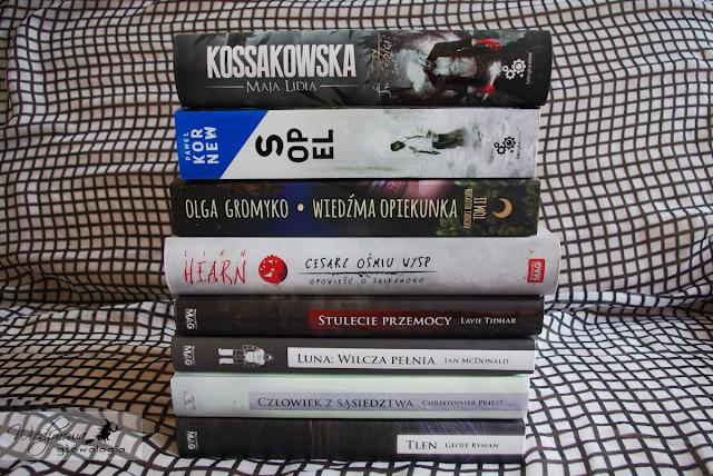 Wiedźmowa głowologia, fantastyka, książki, Kossakowska, Kornew, Gromyko, Hearn, Uczta Wyobraźni