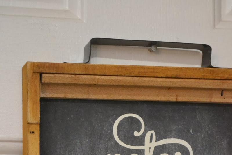 Backgammon Chalkboard Shelf