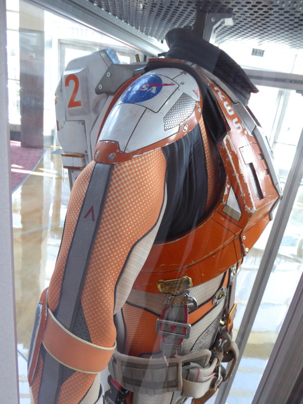 The Martian Matt Damon NASA spacesuit