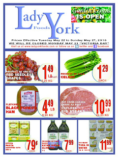 Lady York Foods Weekly Flyer May 24 - 30, 2018