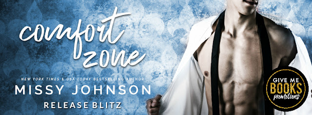 COMFORT ZONE by Missy Johnson @missycjohnson @GiveMeBooksBlog #NewRelease #Review #TheUnratedBookshelf