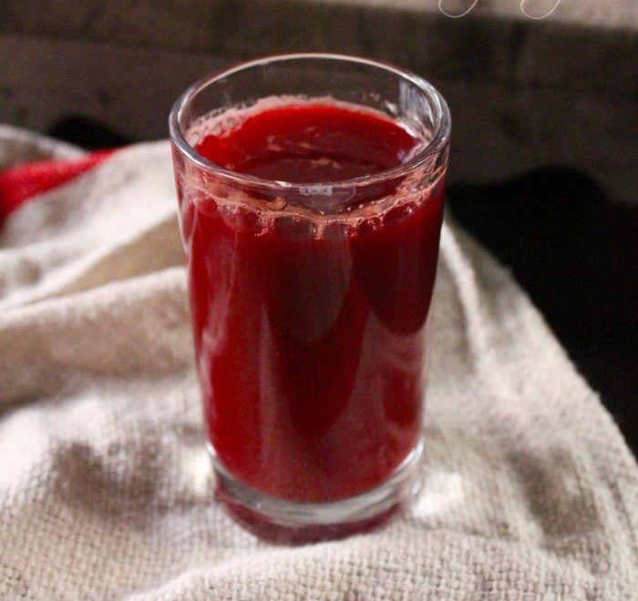 Jus buah bit untuk anemia mix anggur dan kunyit