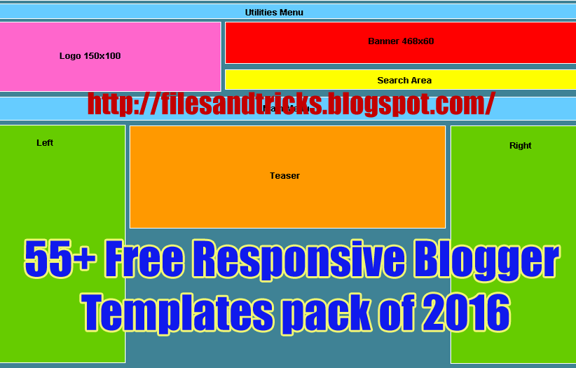 55 free responsive blogger templates pack of 2016