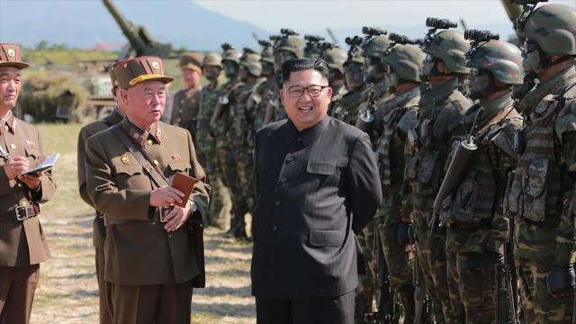 """Corea del Norte amenaza con """"hundir"""" todo EEUU bajo el agua"""