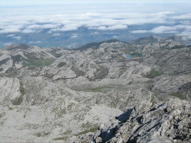 Lagos de Covadonga desde el Cotalba