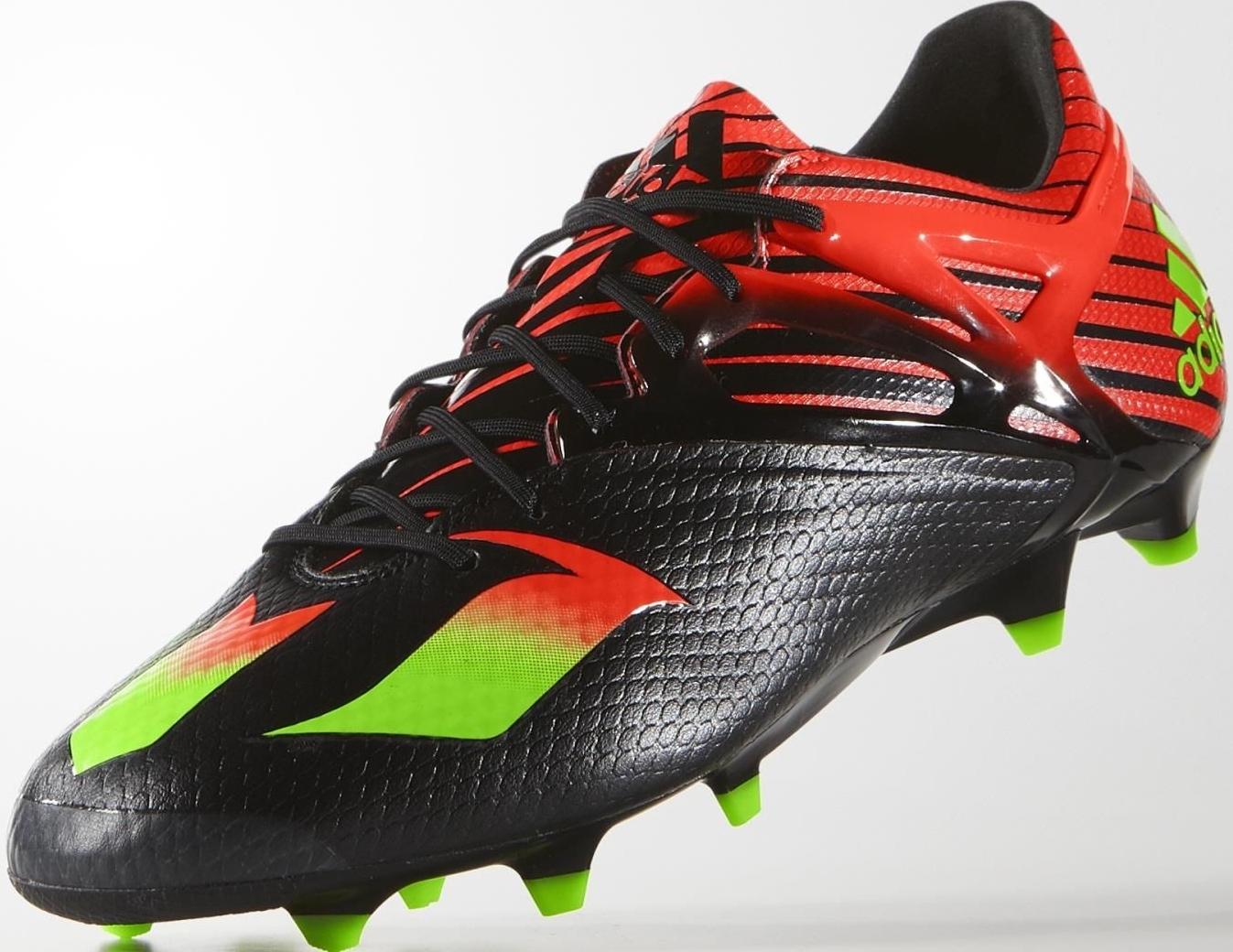 19fde64418bd2 CHUTEIRAS DE OURO  Adidas Messi 15.1 receberá as cores black solar ...