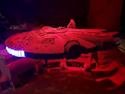 Millennium Falcon at Tatooine