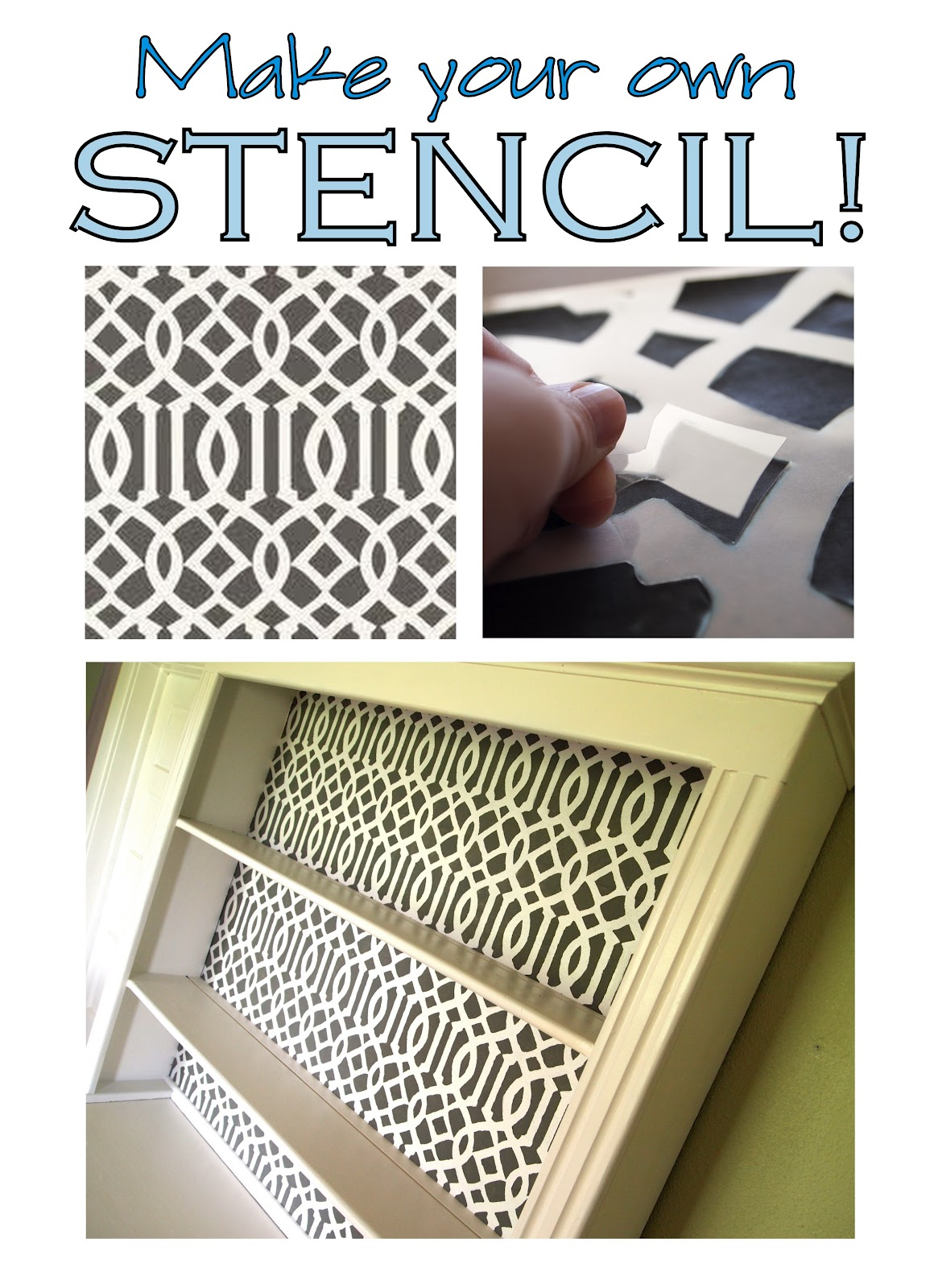 Tutorial  How To Make Your Own Stencil