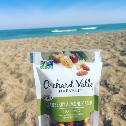 Orchard Valley Harvest Trail Mix for a beach day