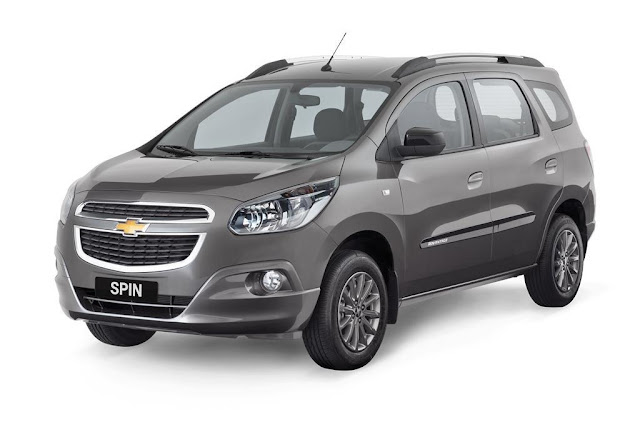 All New Chevrolet Spin 2017