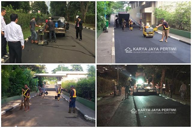Jasa Pengaspalan Jalan Jakarta, Bogor Depok Tangerang Bekasi Serang Banten Bandung Cilegon Cirebon Cikarang Cikarang Karawang Sukabumi Subang Jawa Barat