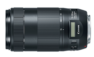 New Canon EF 70-300mm f/4.5-5.6 IS II USM Lens