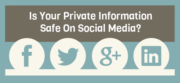 is your private information safe on social media : image