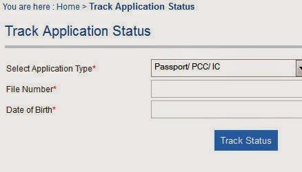Online Passport Application Status In India « Spela online ...