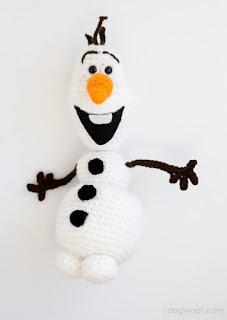 PATRON GRATIS OLAF | FROZEN AMIGURUMI 36509