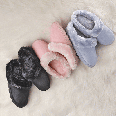 Memory Foam Soft and Furry Slipper