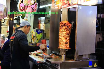 sish kebab, Bugis street flea market, Singapore