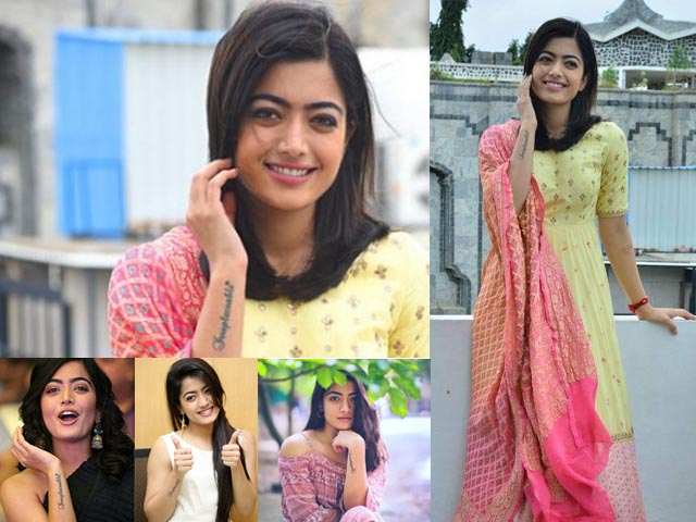 rashmika says she is a color in the rainbow of movie industry