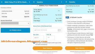 Cara Pembayaran Pulsa dan Token PLN di BBM