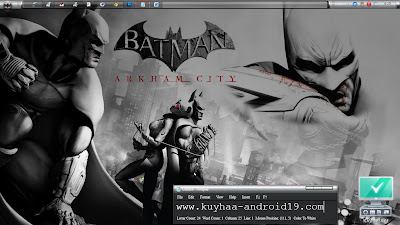 THEME WINDOWS 7 BATMAN ARHKAM
