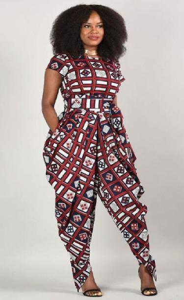 Jumpsuit Designs Ankara Jumpsuits Styles