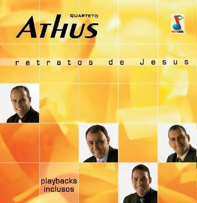 KIT DE ENSAIO QUARTETO ATHUS RETRATOS DE JESUS