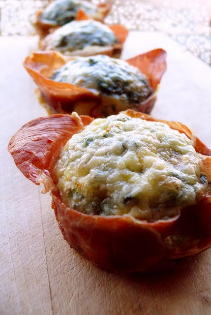 Prosciutto and Egg Muffins