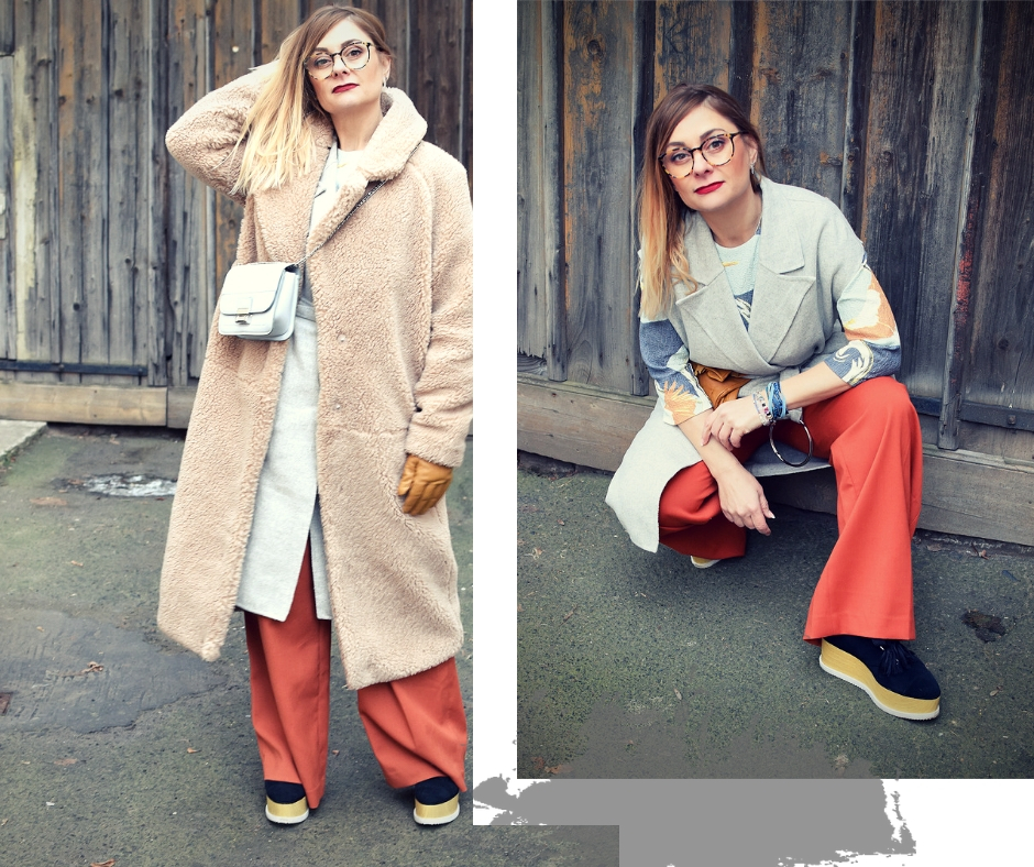Stylisher Winterlook, Outfits für den Winter
