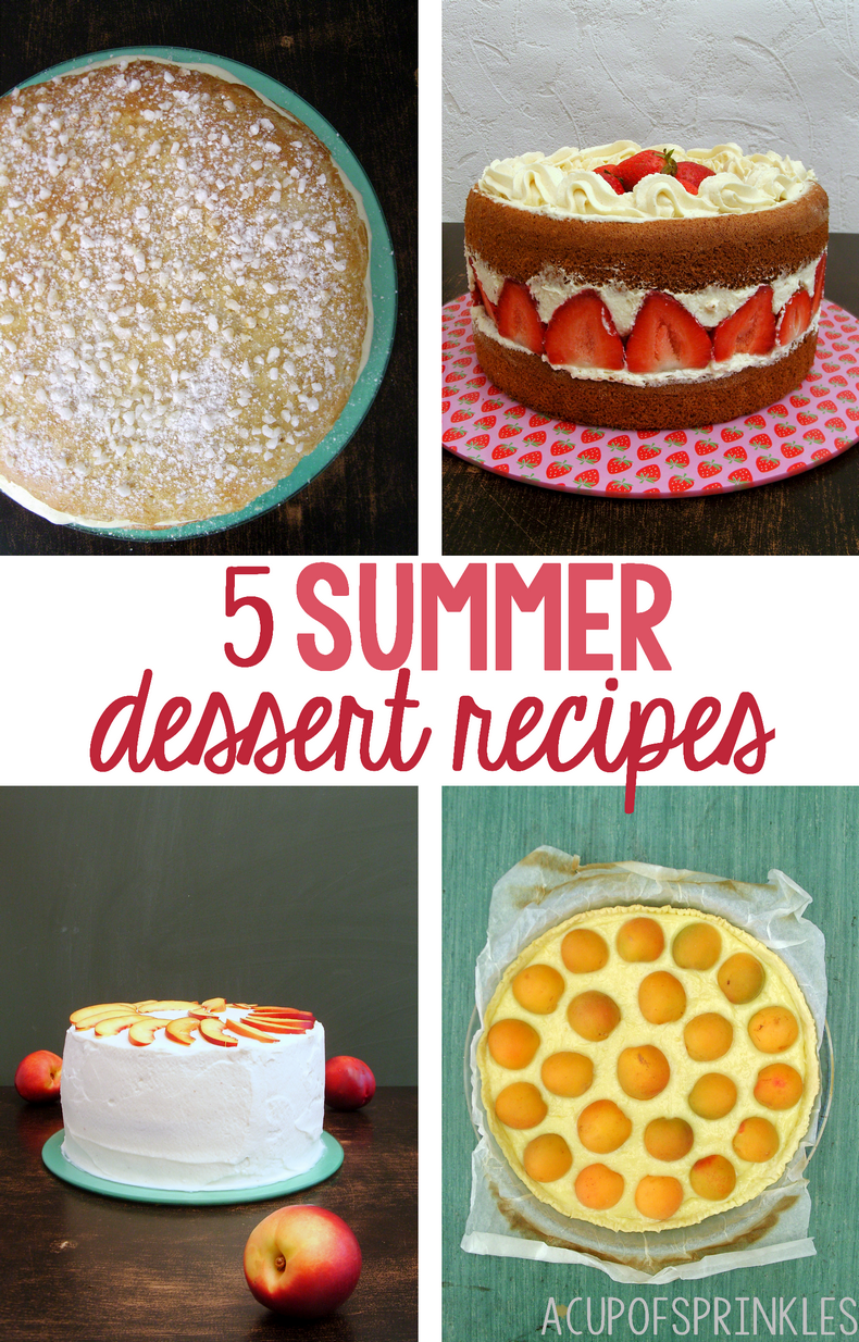 summer fruit dessert recipe
