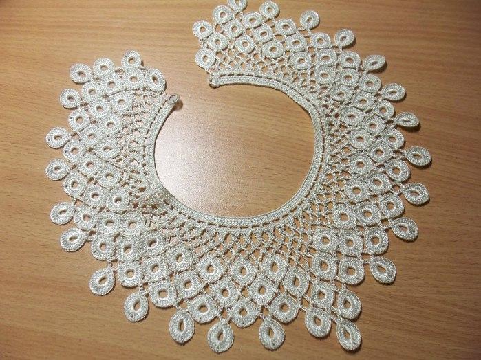 Ergahandmade Crochet Collar Diagrams