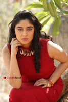 Telugu Actress Zahida Sam Latest Pos in Red Gown at RF Films New Movie Opening  0249.JPG