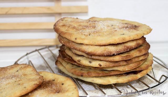 Tortas de aceite tipo Inés Rosales. Julia y sus recetas
