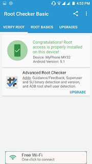 Rooting Success for Myphone My32