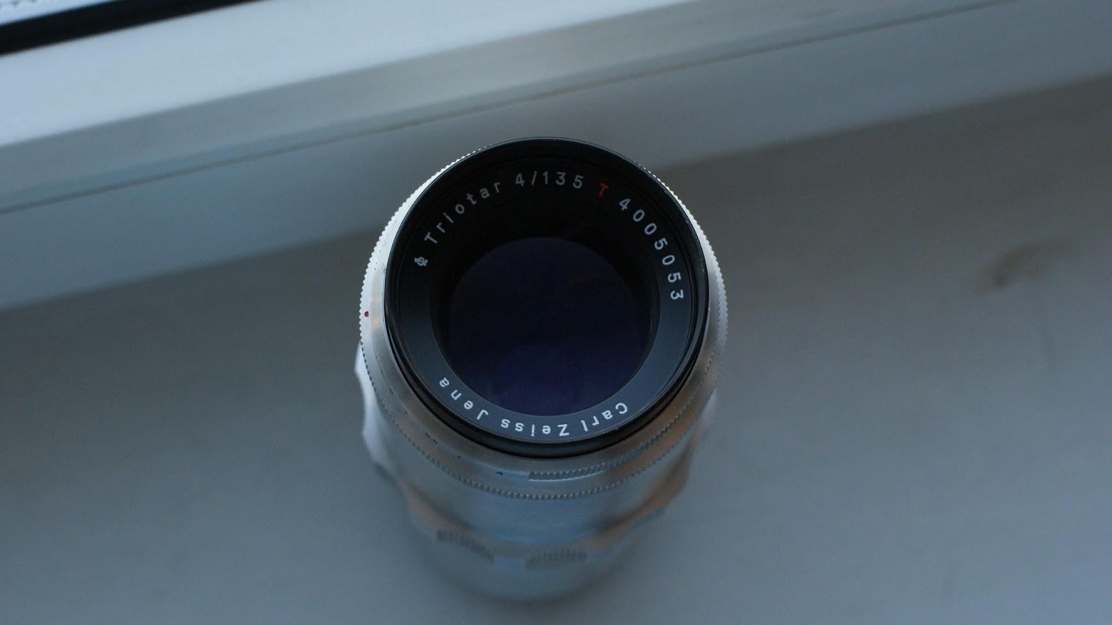 Carl Zeiss Jena Triotar 135mm f4