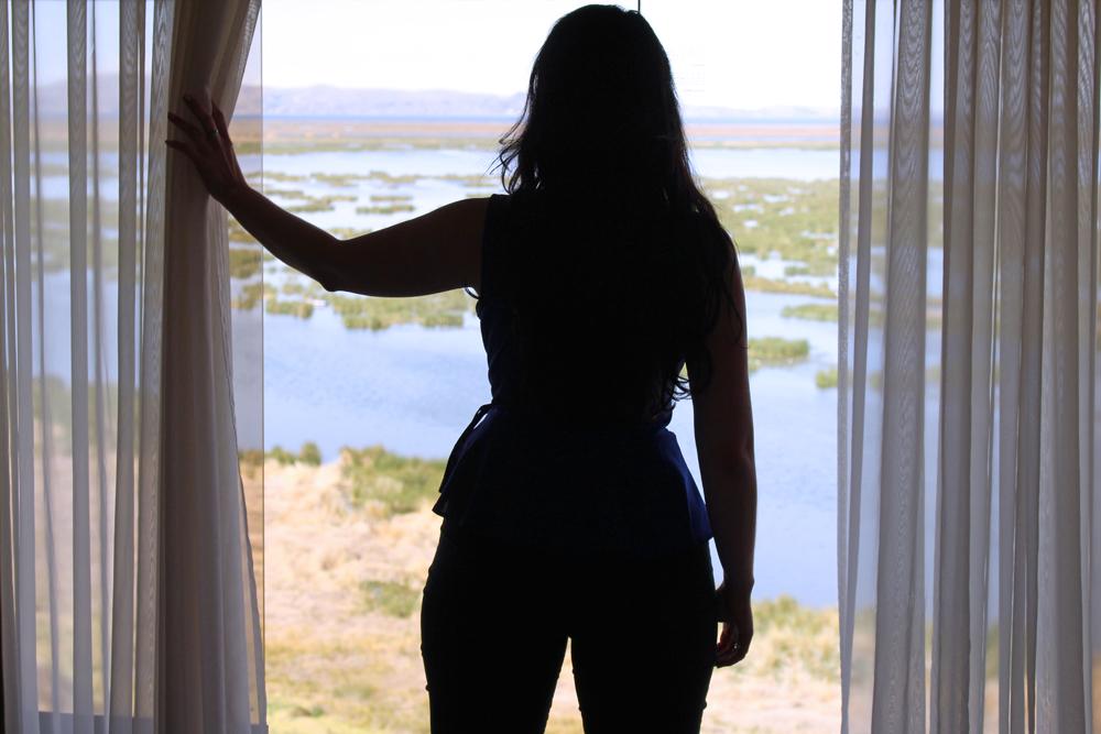 Bedroom view at Hotel Libertador Lago Titicaca, Puno - travel blog