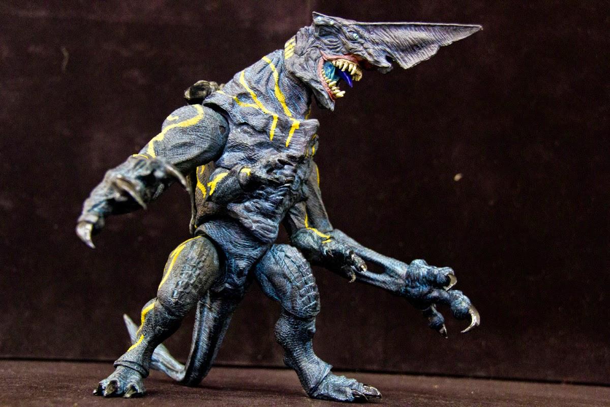 The Kaiju Planet: Original Figure Review - NECA Pacific ... Pacific Rim Kaiju Knifehead