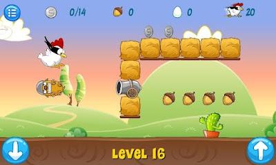 لعبة Ninja Chicken apk Free