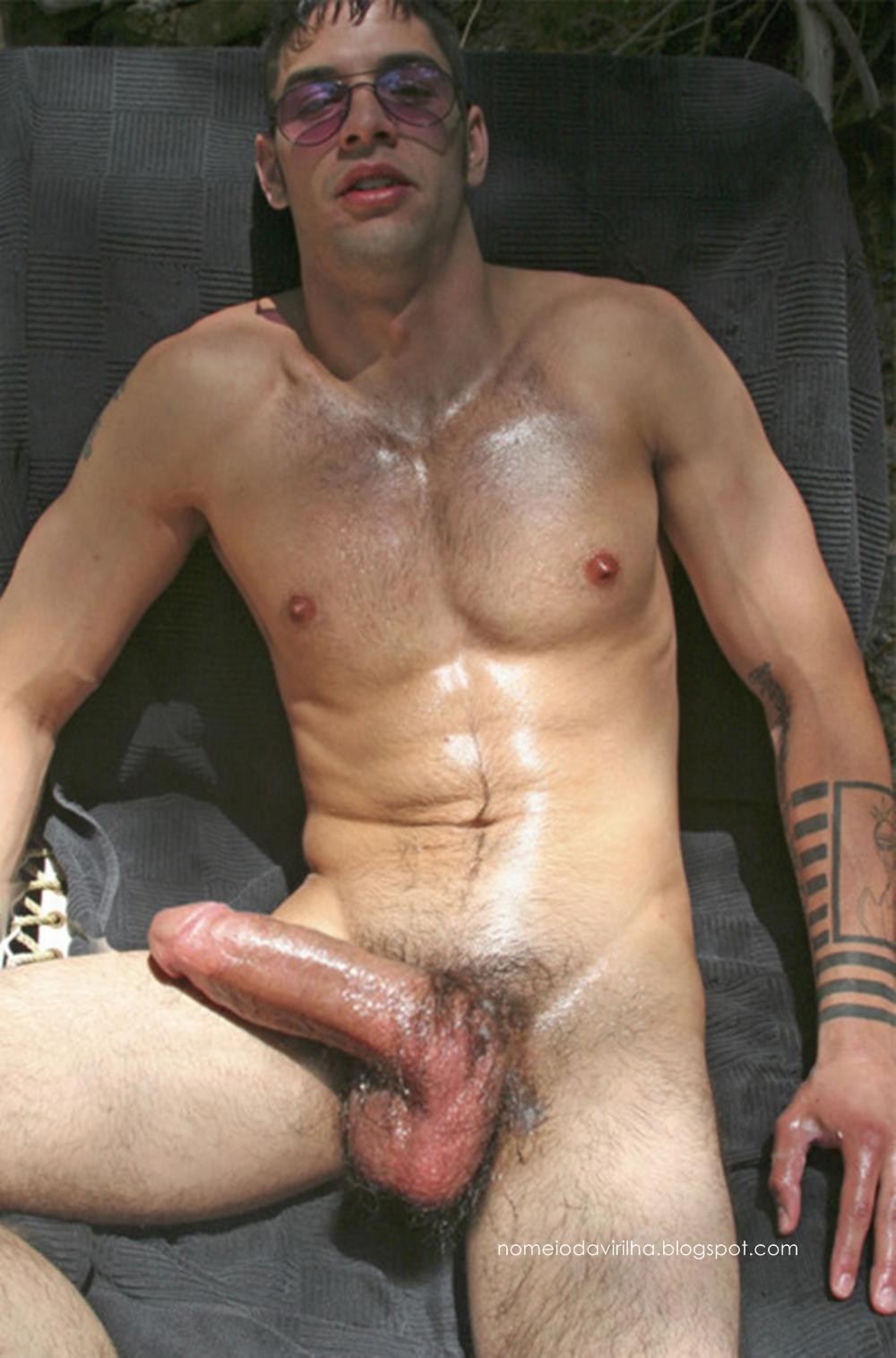 Naked men large cocks