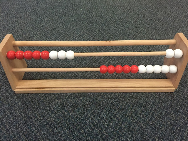 using a rekenrek to teach counting on, place value and numbers 1-10