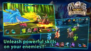 Download Monster Hunt Academy Mod Apk Weak Enemies android
