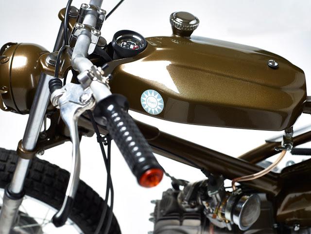 Honda CUB độ Tracker