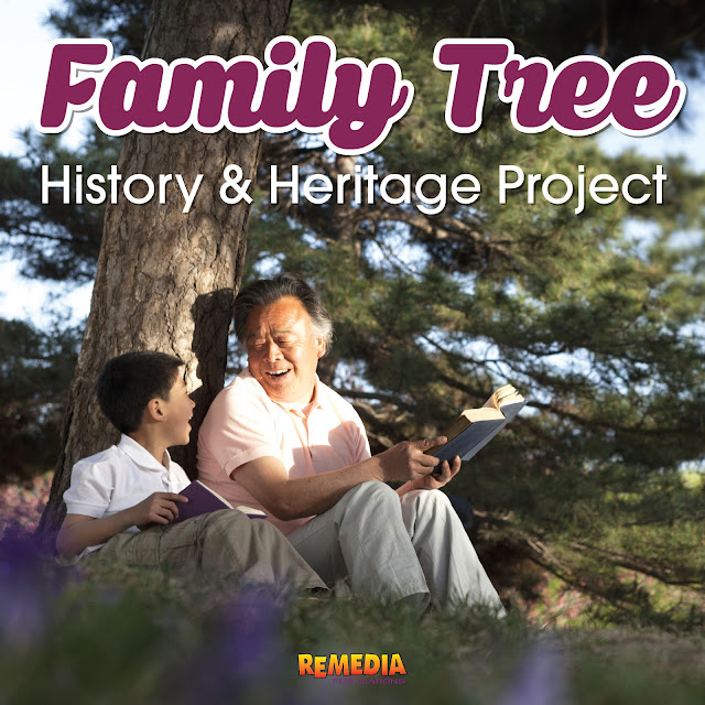 Family Tree Project: Teaching Students About their History & Heritage | Remedia Publications