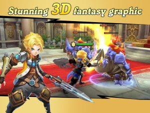 Final Clash 3D Fantasy MMORPG Mod Apk (High Damage/God Mode) Terbaru